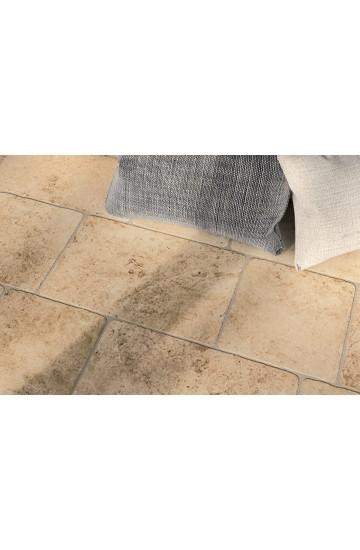 Pavimento per interni pietra di Lecce colore ambra in gres porcellanato 30x50 - Ermes Aurelia