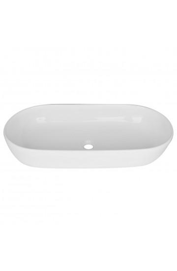Lavabo appoggio in ceramica 70x36cm - Linpha Sanitary LA000