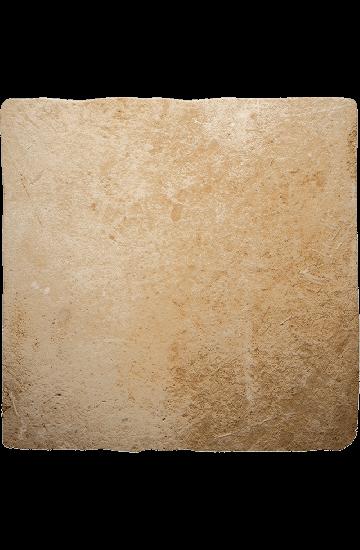 Pavimento per interni pietra di Lecce colore ambra in gres porcellanato 50x50 - Ermes Aurelia