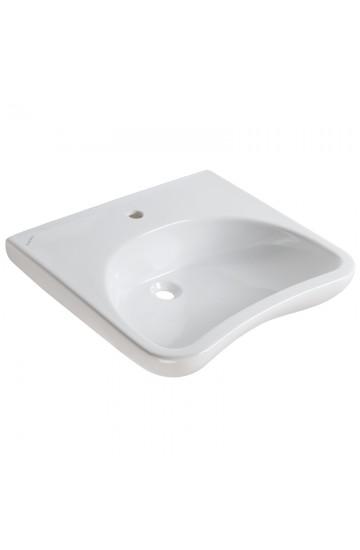 Lavabo ergonomico con poggia gomiti per disabili - Ponte Giulio Causal+