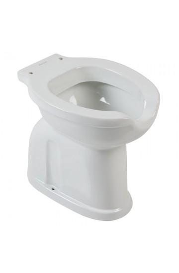 Vaso wc in ceramica con apertura frontale per Anziani o Disabili - Ponte Giulio Casual+.