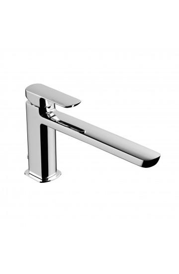 Miscelatore per lavabo con bocca di erogazione prolungata e piletta di scarico Mis Palazzani