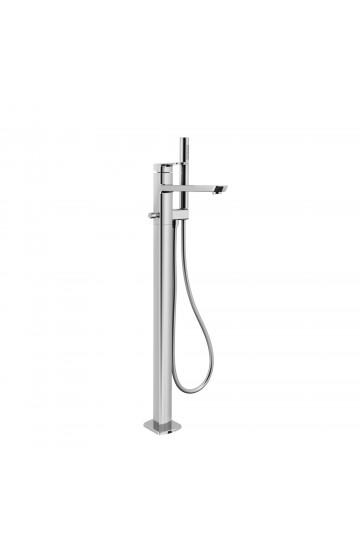 Palazzani MIS - Miscelatore monocomando a terra per vasca con doccetta