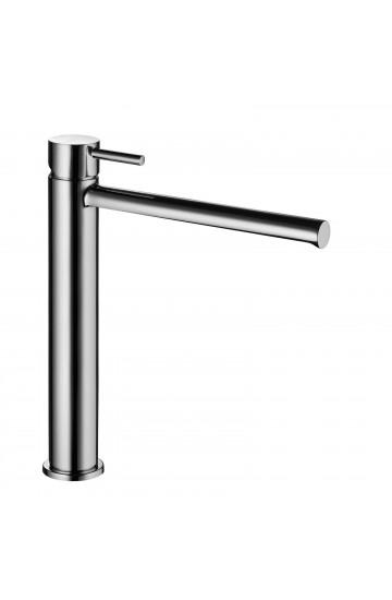 """Palazzani DIGIT - Miscelatore monocomando per lavabo alto con scarico da 1"""" 1/4"""