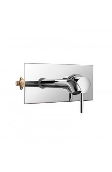 Palazzani DIGIT - Miscelatore monocomando per lavabo da incasso