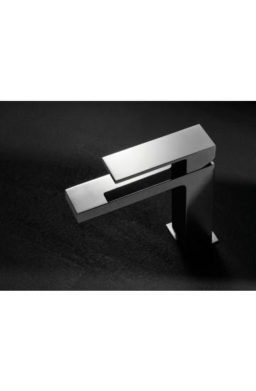 """Palazzani QADRA - Miscelatore monocomando per lavabo con scarico da 1"""" 1/4"""