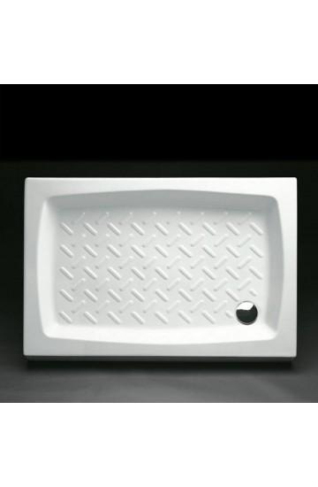 Piatto doccia in ceramica 80x100 (sifone ispez. incluso) - Althea HERA