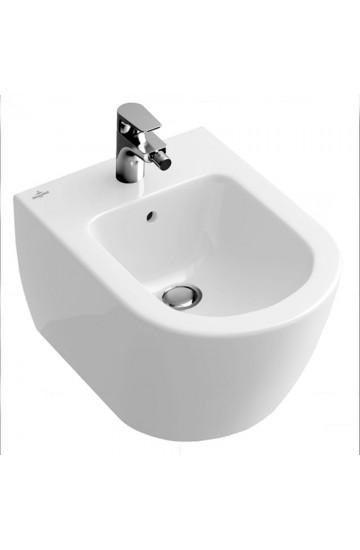 Bidet sospeso in ceramica bianco -Villeroy & Boch- Subway 2.0.