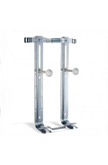 Staffe universali per il fissaggio dei sanitari sospesi wc o bidet