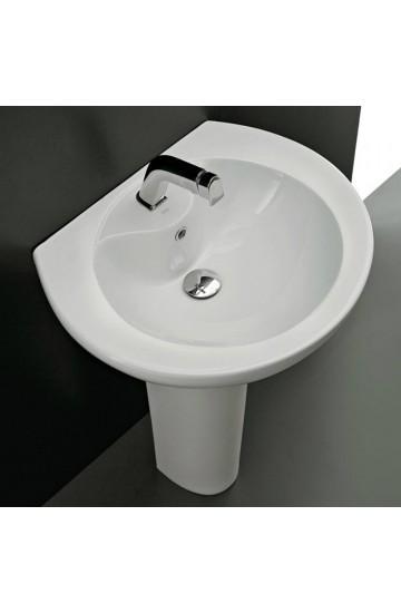Althea Cento – lavabo su colonna da 62 cm