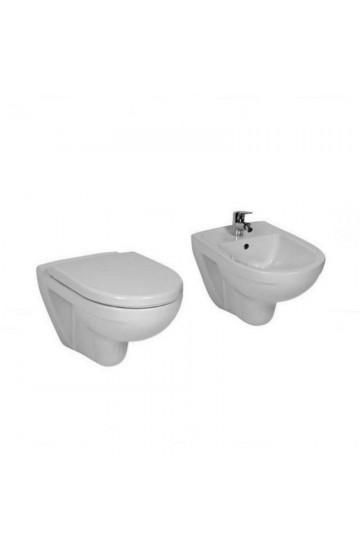 Sanitari Sospesi ceramica bianco water wc + bidet+sedile coprivaso Laufen by Laufen Lyra Plus