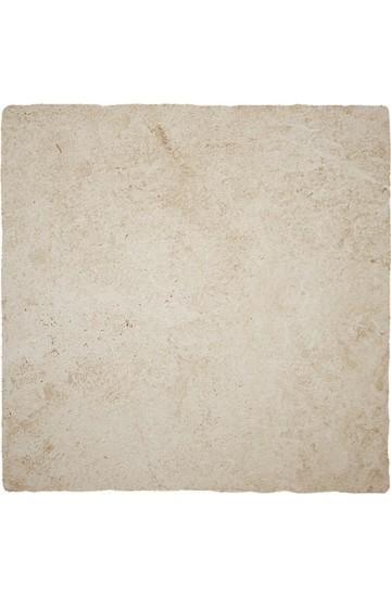 Pavimento per esterno pietra di Lecce colore avorio in gres porcellanato 50x50 Grip - Ermes Aurelia