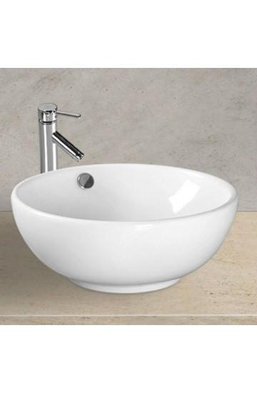 Space: lavabo da appoggio a bacinella dal design raffinato ed elegante