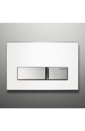 Placca di Comando bianca in metallo Geberit Sigma50 115.788.00.1