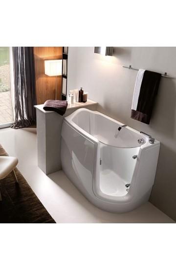 Vasca da bagno apribile per Anziani e Disabili Gen-X 130x75 TREESSE senza idromassaggio