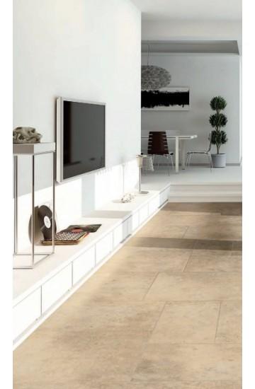 Pavimento per interni effetto pietra in gres porcellanato Beige 30.8x61.5 - La Fenice Murge