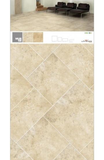 Pavimento per interni effetto pietra in gres porcellanato Bianco 30.8x61.5 - La Fenice Murge