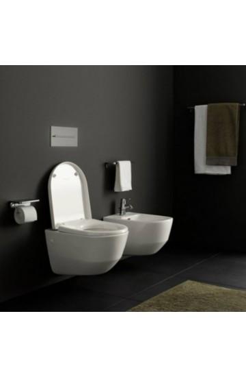LAUFEN PRO sanitari sospesi  wc water + bidet ceramica bianco  +sedile rallentato