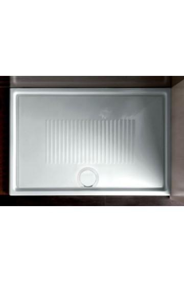 HATRIA LIF.ST piatto doccia 80x80 h 3cm in ceramica (inclusa Piletta e Copripiletta) Made in Italy