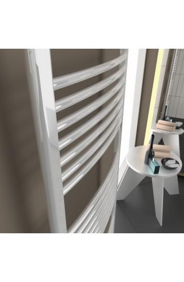 Radiatore Scaldasalviette 550x1385mm - Cordivari LISA 22 Curvo Verniciato Bianco
