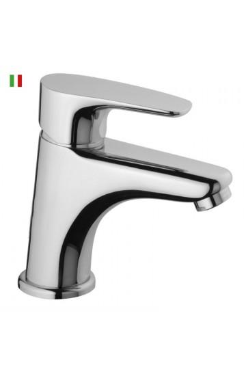 """Miscelatore lavabo PAINI SMART con salterello e scarico automatico da  1""""1/4 - CARTUCCIA A RISPARMIO ENERGETICO"""