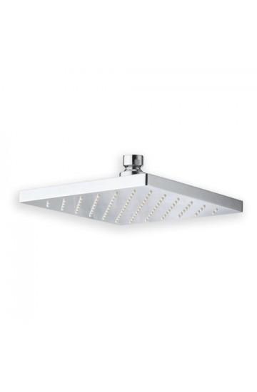 Soffione anticalcare Quadrato 18x18 cm ispezionabile Cristina Rubinetterie- Shower Systems