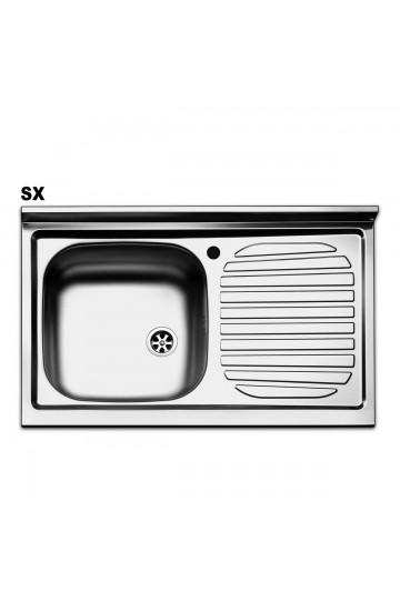 Lavello cucina in acciaio inox 80x50cm - Apell