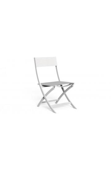 Set da 2 Sedie Pieghievoli per Esterno in alluminio verniciato e textilene - Talenti Queen collection