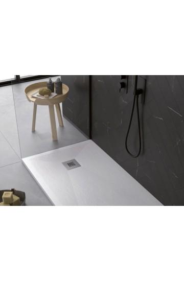 Piatto doccia in marmoresina sagomabile 80x140 - STONE