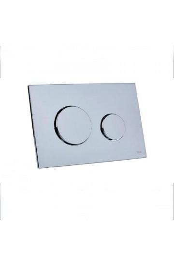 TECE LOOP placca di comando WC in plastica con sistema a doppio scarico