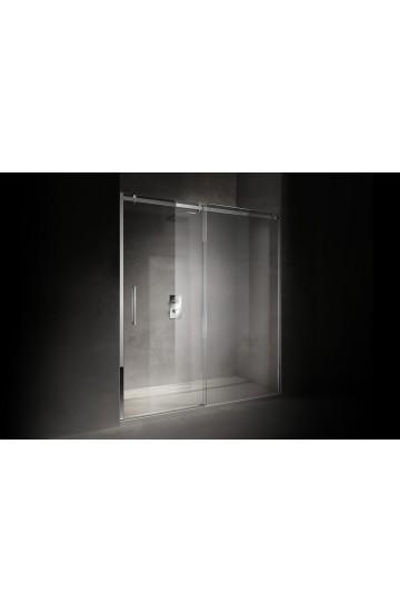 Box Doccia a Nicchia 120x200 con cristallo temperato 8mm - STILL TREESSE